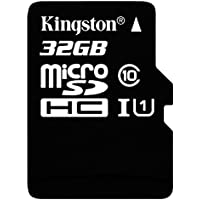 Kingston 32GB mSD Class 10 UHS-I w/SD, SDC10G2_32GB