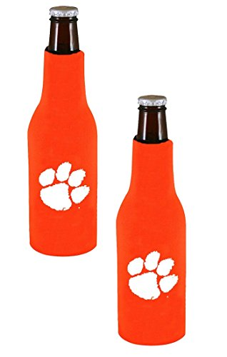 Kolder Offizielles National Collegiate Athletic Association Fan Shop Authentic NCAA 2er Pack Isolierter Flaschenkühler. Show Team Pride Geschlossen, zu Hause, Oder auf Das Spiel, Clemson Tigers -