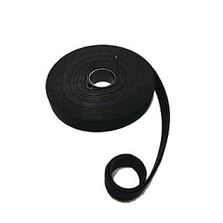 10Meter Klettband-Rolle Klettverschluss Flausch + Haken DOPPELSEITIG – beidseitig 2in1 – ideal für Kabel, Werkstatt, Garten – zuschneidbar – Klettbänder Kabel-Binder Organizer sortieren (10mm Breit)