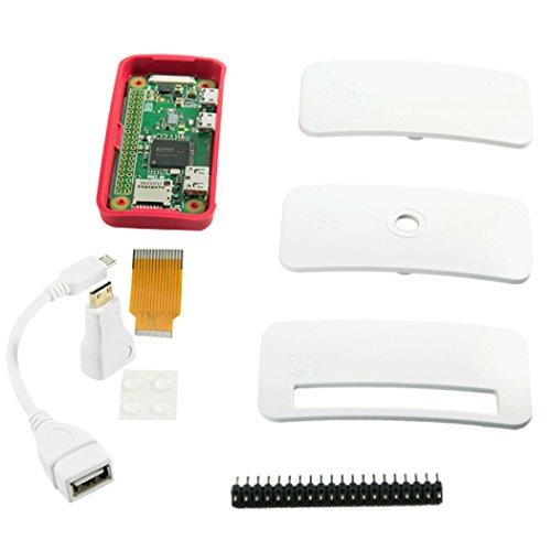 Preisvergleich Produktbild Raspberry Pi Zero W + Zubehör Bundle Essentials - inklusive Gehäuse - bequemer Einstieg!