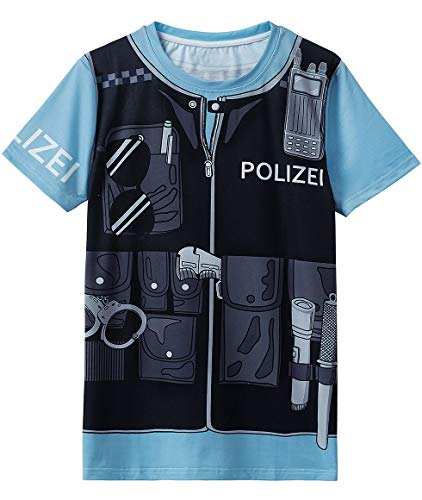 ostüm Uniform T-Shirts Herren (AS:XL, EUR:L, Gemischte Farbe) ()