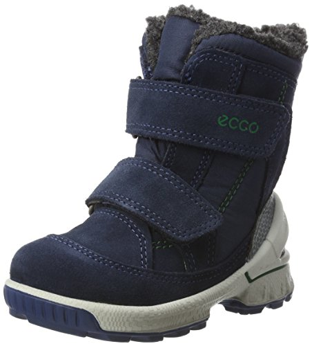 Ecco Unisex Baby Biom Hike Infant Klassische Stiefel, Blau (Marine), 23 EU