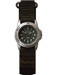 Sekonda 3985 - Reloj para mujeres, correa de tela color verde