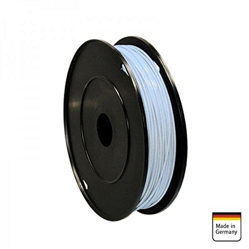 AMPIRE Installationskabel weiss 1mm², 120m Rolle, Kupfer