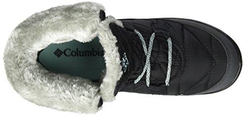 Columbia Youth Minx Shorty Omni-Heat Waterproof, Bottes de Neige Fille Noir (Black, Spray)