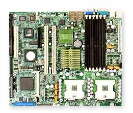Supermicro X6DVA-4G Intel E7320Socket 604(mPGA604) ATX Server/Workstation Mainboard-Server/Workstation Mainboard (ATX, Server, Intel, Socket 604(mPGA604), 800MHz, DDR-SDRAM) -