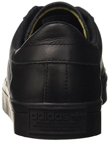 adidas Herren Courtvantage Basketballschuhe Schwarz (Cblack/Cblack/Cblack)