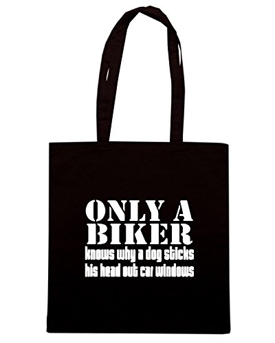 Cotton Island - Borsa Shopping TB0142 only a biker, Taglia Capacita 10 litri
