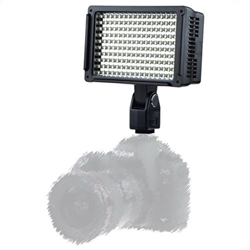 Magideal LED Studio Camera Video DV Camcorder Hot Shoe Light for Canon Nikon DSLR