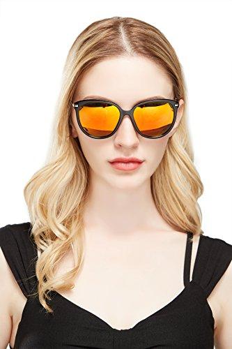 Diamond candy occhiali da sole donna,sexy e alla moda ,polarizzato,uv protezione,uv400 nero