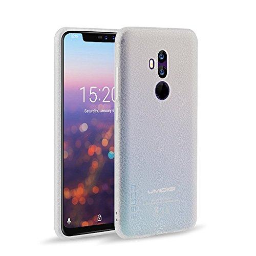 KuGi UMIDIG Z2 Hülle, Hochwertiger ultradünne Frosted [Stoßfest][Anti-Scratch][Schlank Passen][Anti - Wrestling] PC Schutzhülle Hülle für UMIDIG Z2 Smartphone.transparent