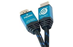 Ultra HDTV 4K HDMI 2.0 Kabel | ECHTER 4K-Support mit 60Hz (getestet), perfekt für 4K-Fernseher und Monitore | UHD, 3D, ARC, HDR, Highspeed mit Ethernet | TV Kabel für Full HD & Ultra HD (4K)