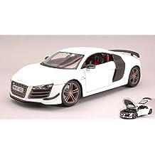 MAISTO MI36190W AUDI R8 GT3 WHITE 1:18 MODELLINO DIE CAST MODEL