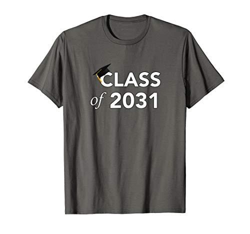 Class of 2032 Graduation Design Kindergarten to Senior T-Shirt