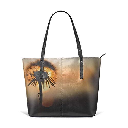 xcvgcxcbaoabo Mode Handtaschen Einkaufstasche Top Griff Umhängetaschen Women's Stylish Casual Tote Bag Travel Bags - Dandelion Shoulder Bags