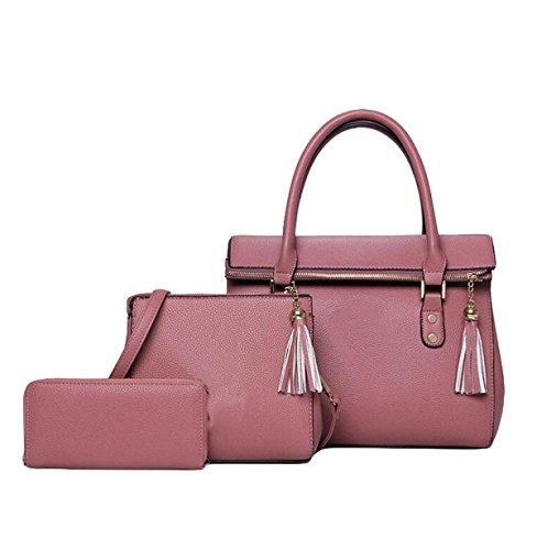Pacchetto Femminile Europa E Lo Spettacolo Di Moda Degli Stati Uniti Suzi Borsa Messenger Messenger Pink