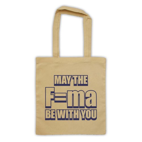 May The Force Be With You fisica Tote Bag natur