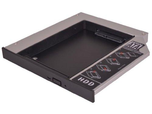 HDD/SSD Festplatten Einbaurahmen Adapter für den Laufwerksschacht unterstützt SATA III (SATA 3.0) (Universal - 9.5mm - IDE zu SATA) -