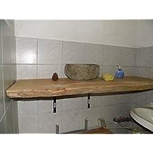 Waschtischplatte holz aufsatzwaschtisch  Suchergebnis auf Amazon.de für: Waschtischplatte Holz