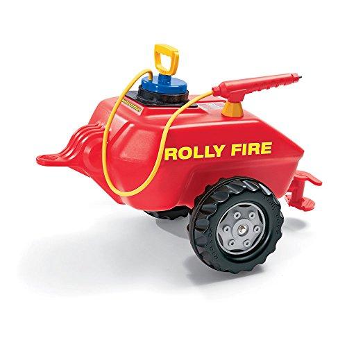*Anhänger für Tretfahrzeug Feuerwehr rolly Fire – Rolly Toys*