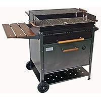 IMOR ETNA - Barbacoa de carbón con horno, 60 x 120 x 92 cm