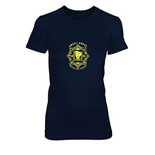 Angel Grove Academy - Damen T-Shirt, Größe: XL, ()