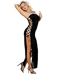 e3d75ad7fcc Shirley of Hollywood Number 90049 One Size Black Stunning Slinky Strapless  Dress