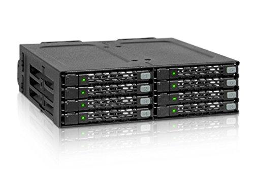 ICY DOCK MB998IP-B ToughArmor Wechselrahmen für Festplatten und SSDs Schwarz
