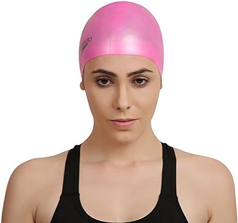 Speedo Plain Moulded Silicone Swim Cap