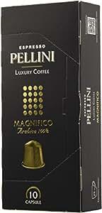 Pellini Luxury Coffee Magnifico Espresso Arabica (12 astucci da 10 capsule - totale 120 capsule), compatibili Nespresso