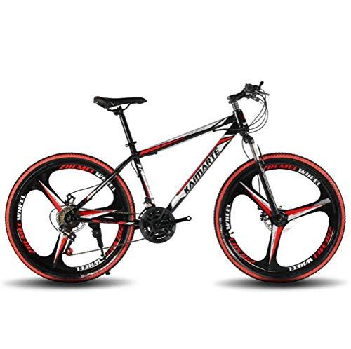 WJSW Bicicleta de Carretera Unisex para Ciudad - Bicicleta de montaña de 24 Pulgadas 21 City Commuter...
