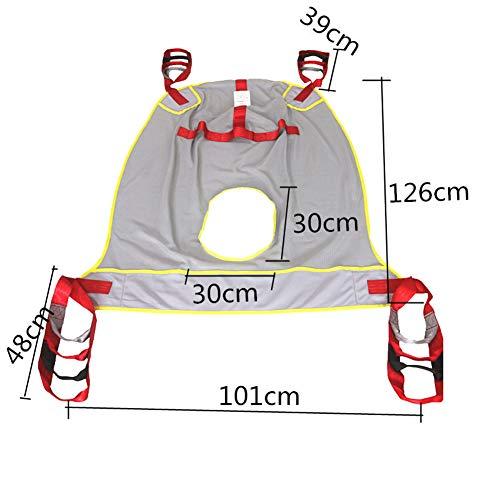 412y93DPOVL - Hmlopx Paciente Levantar Aseo Honda Silla con Cuatro Punto Apoyo Cuerpo Completo Honda Bariátrico Desventaja Transferir Cinturón