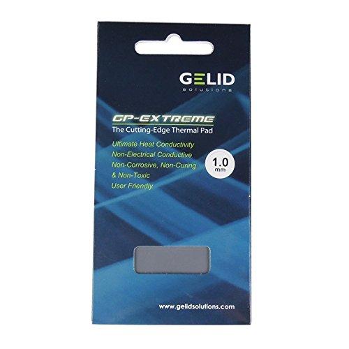 GELID Solutions GP-EXTREME - Pad termico 80x40x1.0mm | Ottima conduzione del calore | Non conduttivo, non corrosivo | Ideal Gap Filler | Installazione molto facile | Conducibilità termica 12W/mK