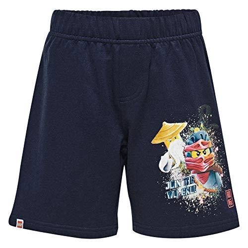 LEGO Jungen Lego Boy Ninjago CM-50239-SWEAT Shorts, Blau (Dark Navy 590), (Herstellergröße: 104)