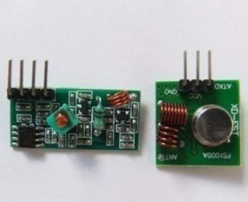433M receiver module 433MHZ Superregeneration Wireless Transmitter Module Burglar Alarm