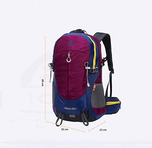 HWLXBB Outdoor Bergsteigen Tasche Man And Lady Mehrzweck-Bergsteigen Tasche Wandern Camping Bergsteigen Rucksack 4*