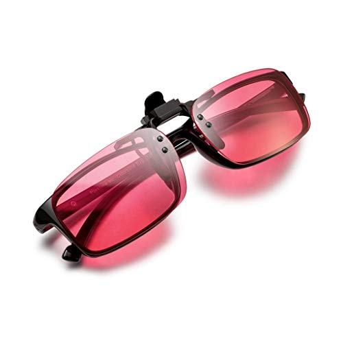 PILESTONE GM-3 farbenblinde gläser Color Blind Korrekturbrillen Aufsteckgläser für Rot / Grün Color Blind - Strong Protan