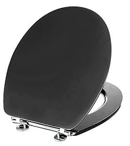 cornat wc sitz telo anthrazit toilettensitz toilettendeckel klodeckel wc deckel holzkern mdf. Black Bedroom Furniture Sets. Home Design Ideas