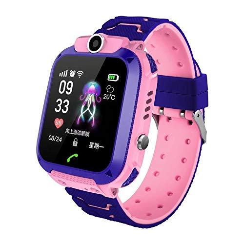 BELUPAI Children's Phone watchIP67 Smart Watch Kids Q12 Smart Phone Watch with GPS GSM Locator Touch Screen Tracker SOS for Girls Boys Children