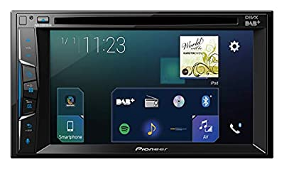 Pioneer AVH-Z3000DAB 2-Din 6.2-Inch Clear Type Touchscreen Multimedia Player with Smartphone Connectivity