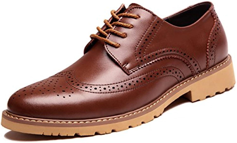 Zapatos De Cuero Para Hombres Zapatos De Hombre Tallados En Bloque De Cuero Genuino Zapatos Casuales Zapatos De...