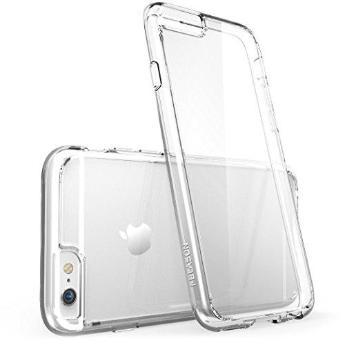 Apple iPhone 6 / 6S Plus (5.5 Zoll) Hülle, i-Blason [Halo Serie] Case, transparente kratzfeste Schutzhülle / Cover Durchsichtig