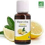 Zitronenöl Ätherisch BIO - 100% naturrein - Zertifiziertes BIO-Produkt - Duft-Öl Zitrone 30ml, Aroma für Diffuser, Aromatherapie
