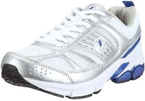 Ultrasport Running Shoe - White/Silver/Blue, Size 3.5