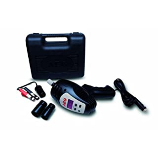 AEG 97135 SD 340 Impact Screwdriver with Digital Torque Control from 80 to 340 Nm 12 V with Handy Storage Case and Accessories