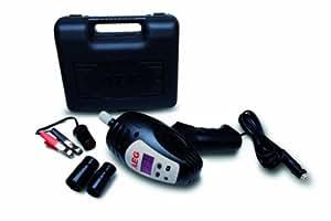 AEG 97135 Visseuse à percussion SD 340 avec correcteur de couple numérique (80 à 340 Nm) 12 V avec divers accessoires dans boîtier de rangement pratique