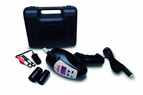 AEG Automotive AEG 97135 Schlagschrauber SD 340 mit digitaler Drehmomentvorwahl (80 bis max. 340 Nm), 12 Volt, praktischem Aufbewahrungskoffer und Zubehör