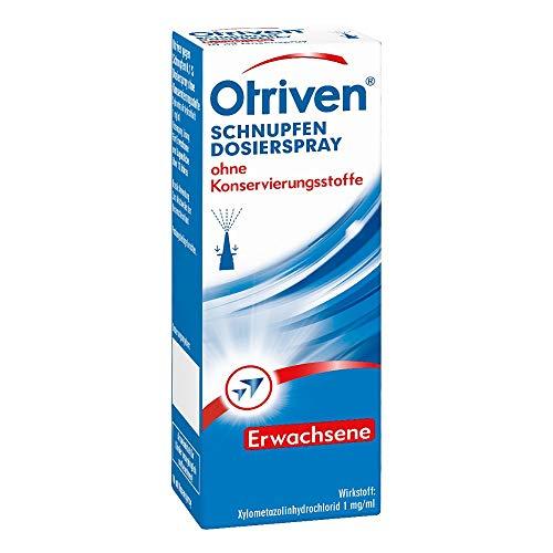 Otriven 0,1% ohne Konservierungsstoffe Dosierspray, 10 ml Lösung