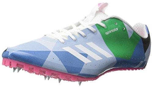 Adidas Performance Sprintstar W Chaussures de course, blanc / blanc / vert, 5 M Us White/White/Shock Pink