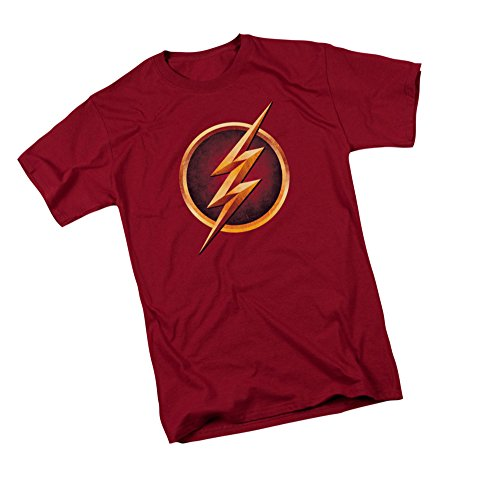 The Flash Logo -- CW's The Flash TV Show Erwachsener T-Shirt, XX-Large -